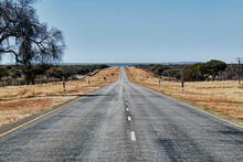 Long Road In The Middle Of Nowhere, Namibia