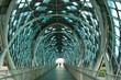 Steel bridge in Kuala Lumpur, Malaysia