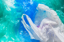 Close-up Of Heap Of Plastic Bags