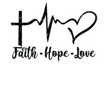 Faith Hope Love Christian Love Jesus Gift Wo Sport Illustrator Vector Poster Design