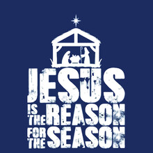 Jesus Is The Reason For The Season Christmas Star Wo Illustrator Vector Poster Design