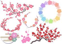 梅の花の素材集