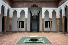 Interior Of The Kasbah Of Ouarzazate In Morocco