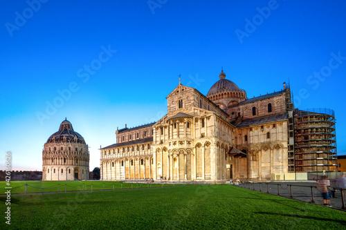 Fotografia Piazza dei Miracoli, Pisa, Toskana, Italien