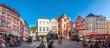 canvas print picture - Marktplatz, Bernkastel Kues, Rheinland-Pfalz, Deutschland