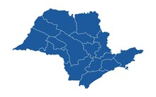 Map Of Sao Paulo State