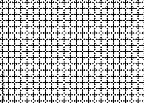Fotografija Patrón de flechas negras formado cruces ordenadas en vertical y horizontal sobre