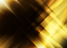 Black Brown And Yellow Abstract Fractal Stripes Modern Background Illustrator
