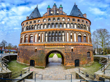 Old Town Of Lubeck In Germany