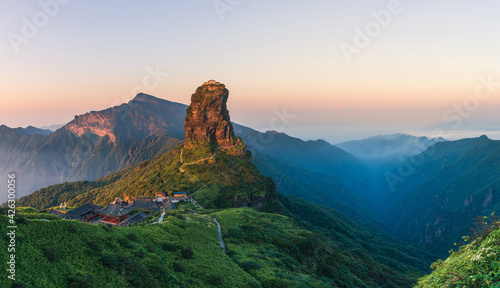 Fotografia, Obraz Fanjing Mountain, Guizhou Province, China