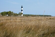 Bodie Island Lighthouse On Outer Banks In North Carolina USA