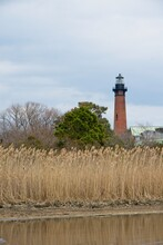 Currituck Beach Lighthouse In Corolla On Outer Banks Of North Carolina USA