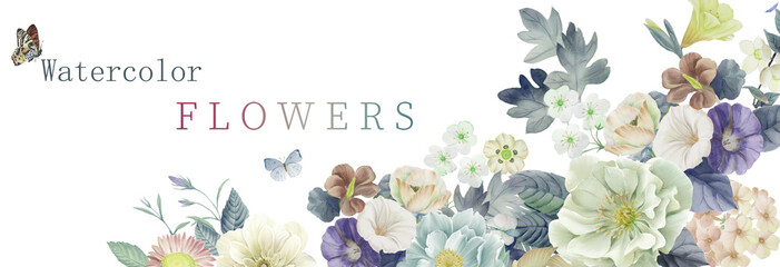 Illustration of flower