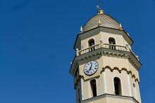 Clock Tower, In Cinque Terre, Liguria, Italy