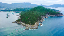 Hebe Haven Or Pak Sha Wan Harbour On The South Shore Of Sai Kung Peninsula In Hong Kong