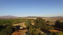 4k Aerial Drone Shot Of Hansen Dam Area Of Los Angeles