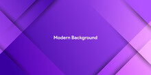 Purple Abstract Shape With Colorful Gradient Background