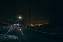 Bridge Of Lisbon In The Street