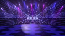 Disco Dance Floor Background