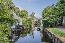 Het Dee River At Broek In Waterland The Netherlands 2018