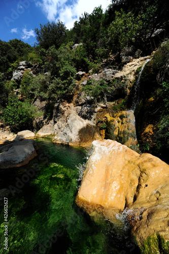 Small waterfall in the Sierra de Cazorla, Spain // kleiner Wasserfall in der Sierra de Cazorla, Spanien