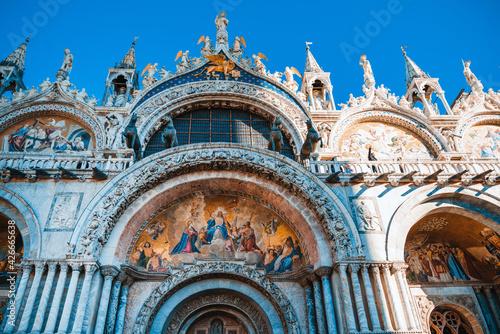 Fotografia St Mark's Campanile in Venice, ITALY