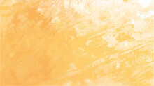 Orange Watercolor Background For Textures Backgrounds And Web Banners Design