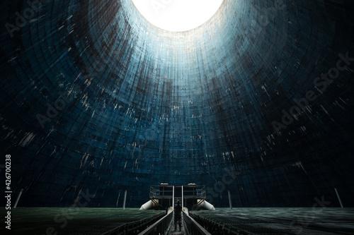 Obraz tunnel of light - fototapety do salonu