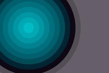 Blue Circular Background On A Violet Background