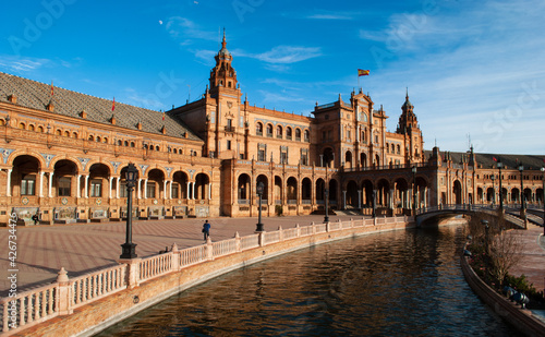 the beautiful seville a beautiful sunny day