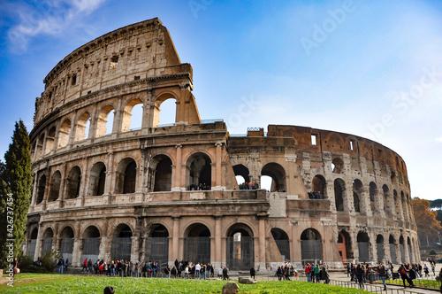 Billede på lærred Colosseo