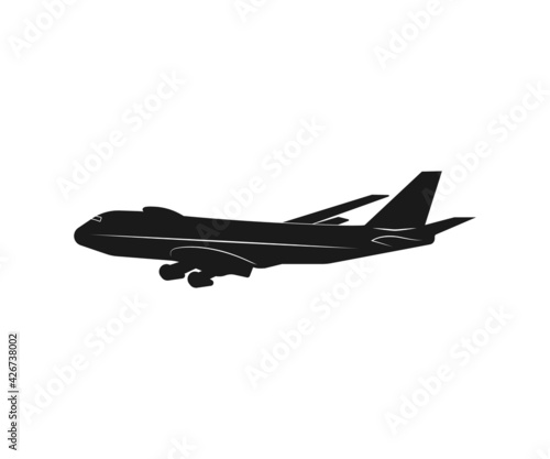 Fotografia airplane icon image wallpaper illustration