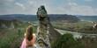 canvas print picture - Panoramablick ins Donautal der Wachau
