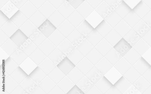 3d seamless cubes pattern Fotobehang