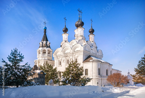 Fotografie, Obraz Annunciation Cathedral in the Annunciation Monastery in Murom