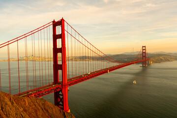 Golden Gate Bridge Skyline