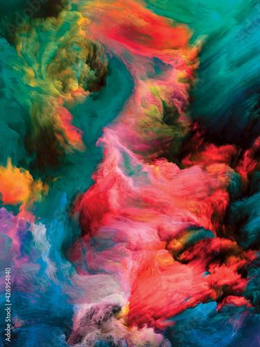Paint Flow Composition