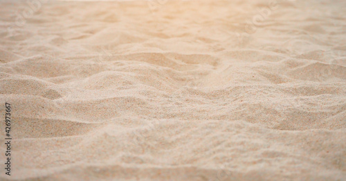 Close up of sand for texture background Fototapete