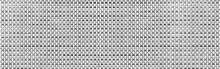 Panorama Of White Painted Rattan Pattern Texture And Background Seamless