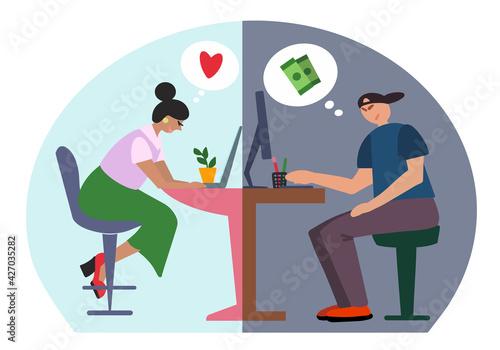 Fényképezés Online dating scam, online fraud, cybercrime concept