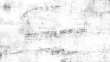 Black And White Texture Of Scratches, Chips, Scuffs, Dirt On Old Aged Surface . Old Film Effect Overlays For Space Or Text.