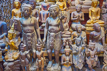 The Antique Store In Shwe-gui-do Quarter, Mandalay, Myanmar