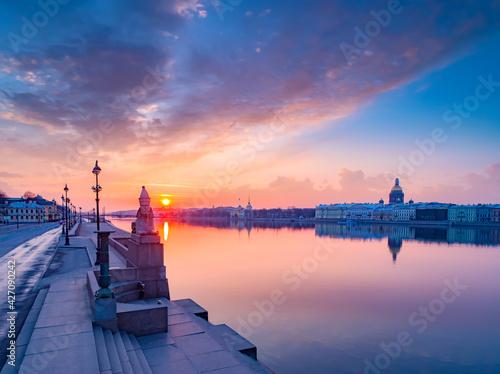 Canvas Print Canals of Saint Petersburg