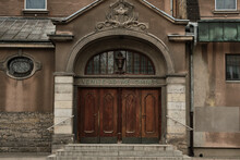 Church Kościół Najświętszego Serca Pana Jezusa, Entrance