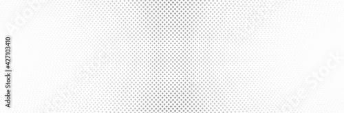 Fototapeta White Gray background. 3d dotted surface. Technology presentation backdrop. Vector illustration obraz