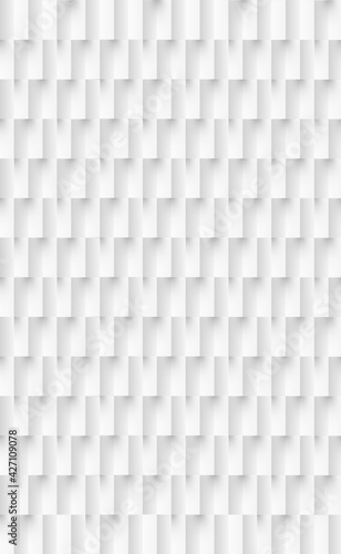 Abstract background white - gray rectangles - Vector - fototapety na wymiar