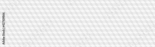 Fotografia Abstract pattern background texture, many identical cubes - Vector