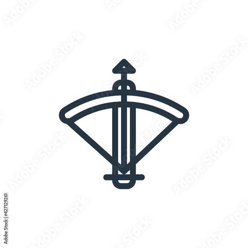 Fotografia crossbow icon