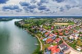 Fototapeta Miasto - Ruciane-Nida -miasto na Mazurach w północno-wschodniej Polsce