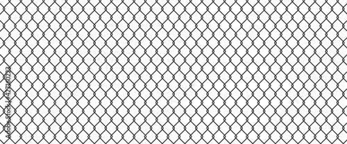 Fotografie, Obraz Сhain link fence